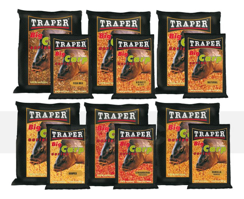 Traper Big Fish 2,5kg, Jahoda