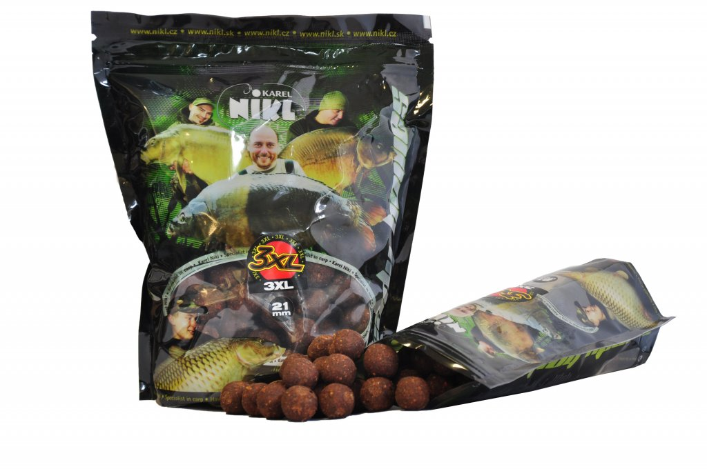 Hotové boilies 3XL READY 21,18mm 1Kg